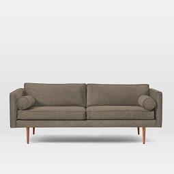 Hamilton upholstered sofa 206 cm west elm uk for Shale sofa bed