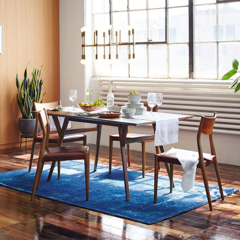 Mid Century Modern Split Level 1956 Edition Better Homes: Mid-Century Expandable Dining Table - Walnut