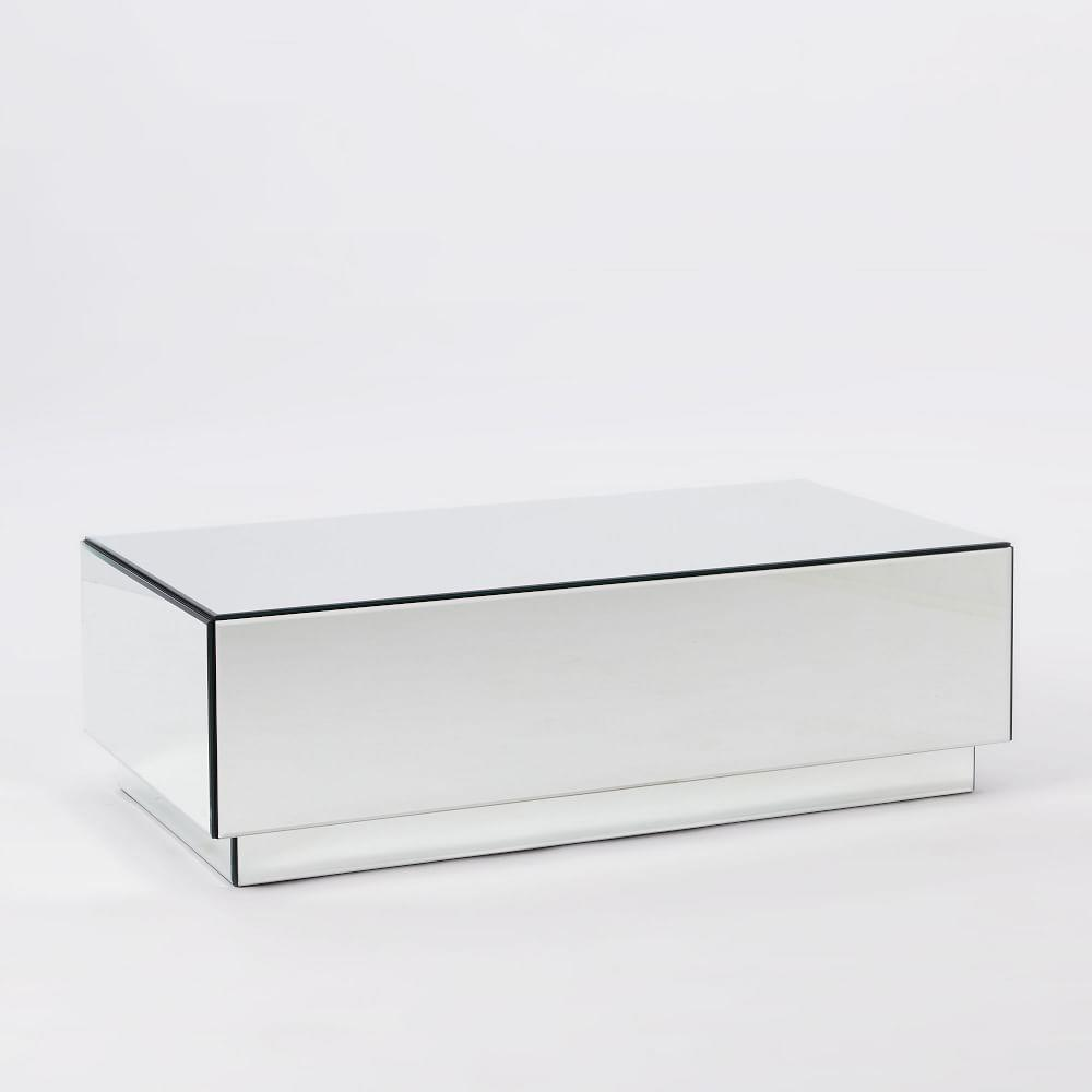 Geo Mirror Storage Coffee Table West Elm Uk