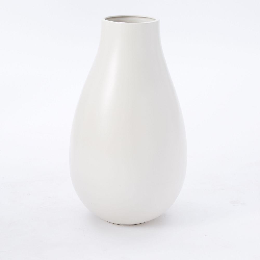 Oversized pure white ceramic vases west elm uk oversized pure white ceramic vases reviewsmspy