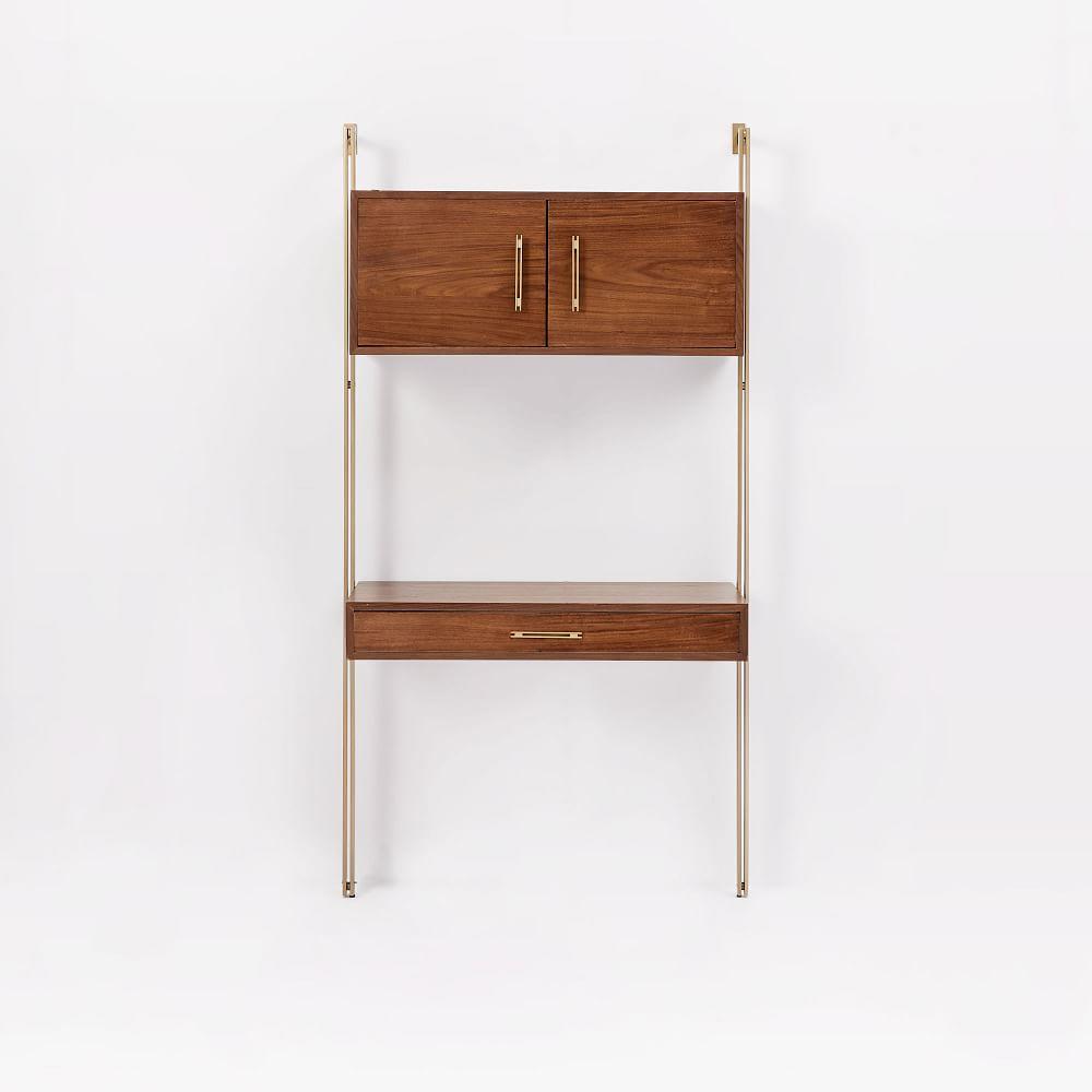 linden midcentury wall desk  west elm uk -  linden midcentury wall desk