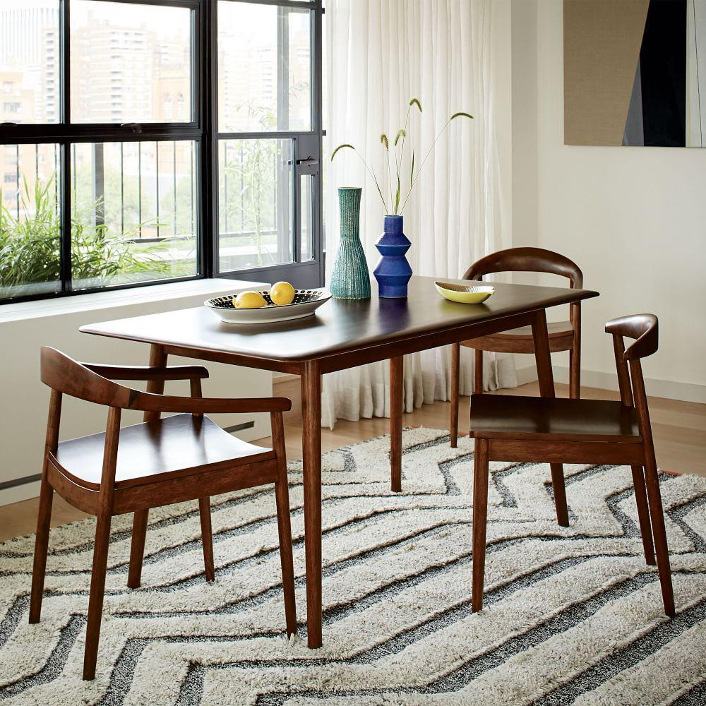 Mid Century Dining Room: Lena Mid-Century Dining Table