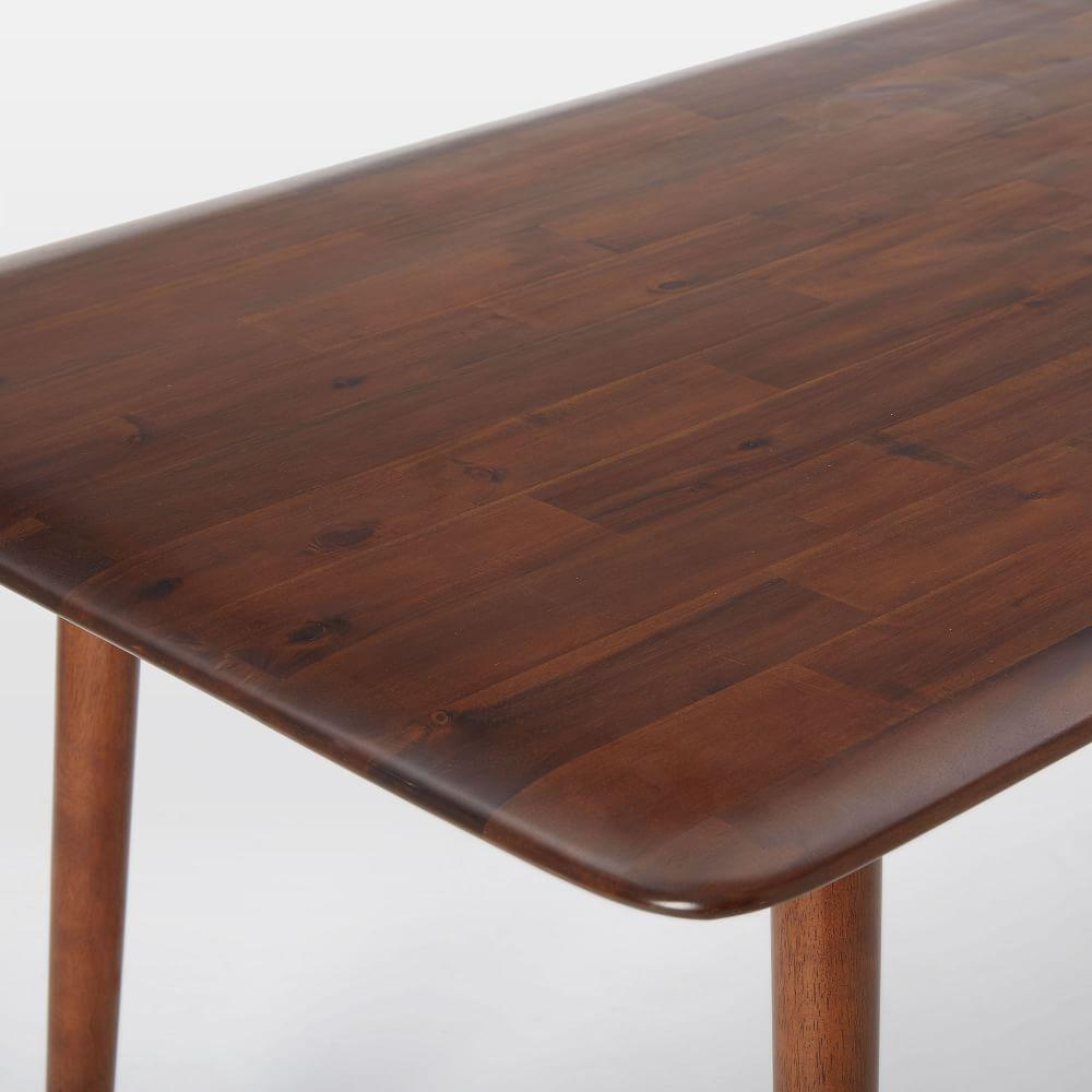 Lena mid century dining table west elm uk for Table 6 5 upc