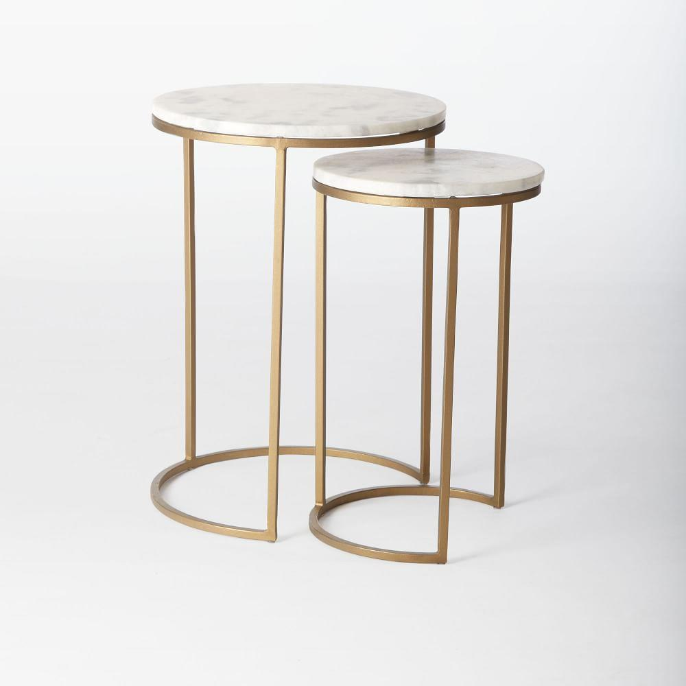 Side Table Decor Round Modern