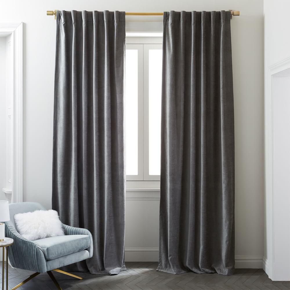Worn Velvet Curtain Blackout Lining