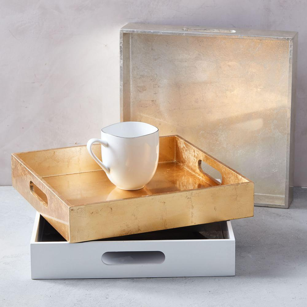 Lacquer Trays Square West Elm Uk