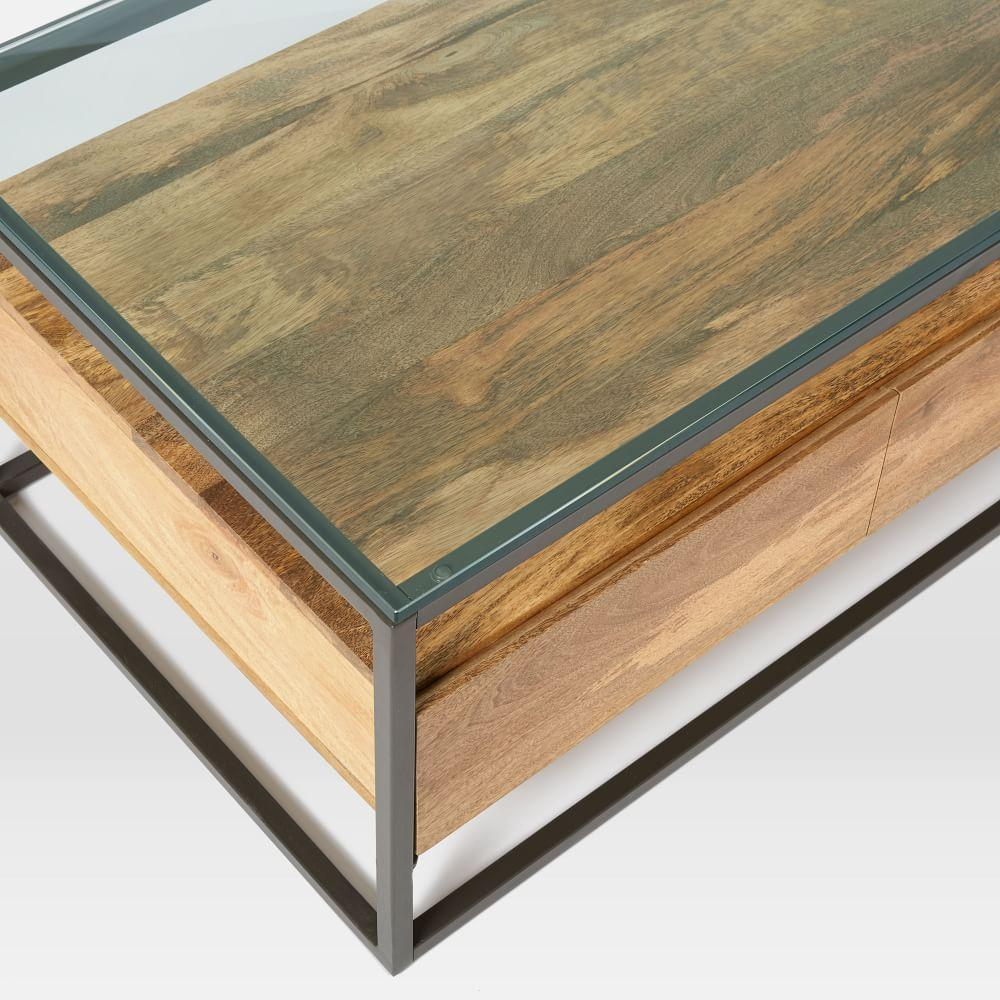 Box Frame Storage Coffee Table | west elm UK