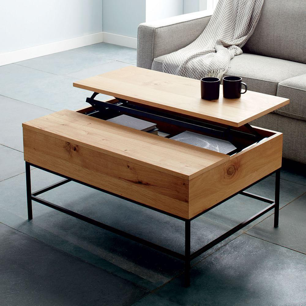 Industrial storage coffee table west elm uk industrial storage coffee table geotapseo Choice Image