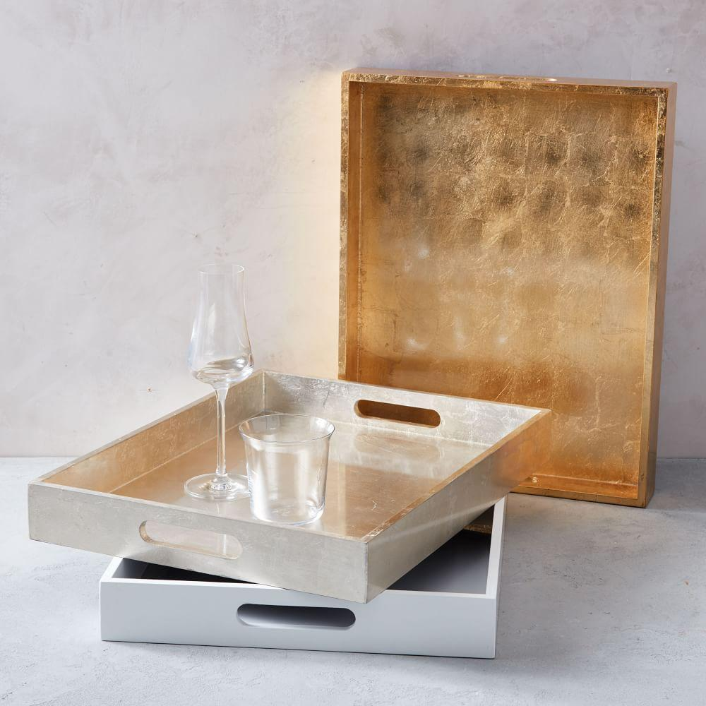 Lacquer Trays - Small Rectangle