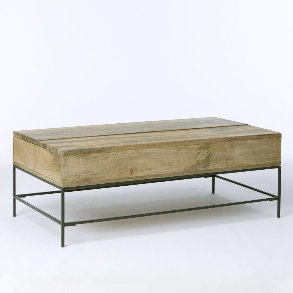 Industrial Storage Coffee Table  Industrial Storage Coffee Table. Industrial Storage Coffee Table   west elm UK