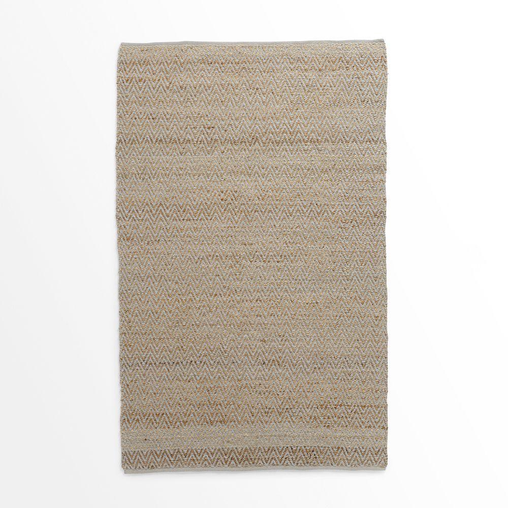 jute chenille herringbone rug natural platinum. Black Bedroom Furniture Sets. Home Design Ideas