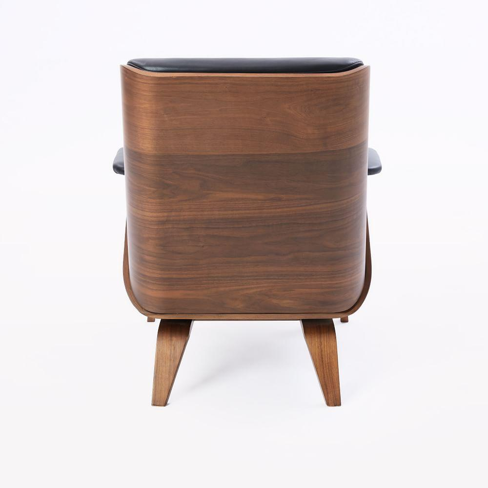 Paulo Bent Ply Leather Chair West Elm Uk