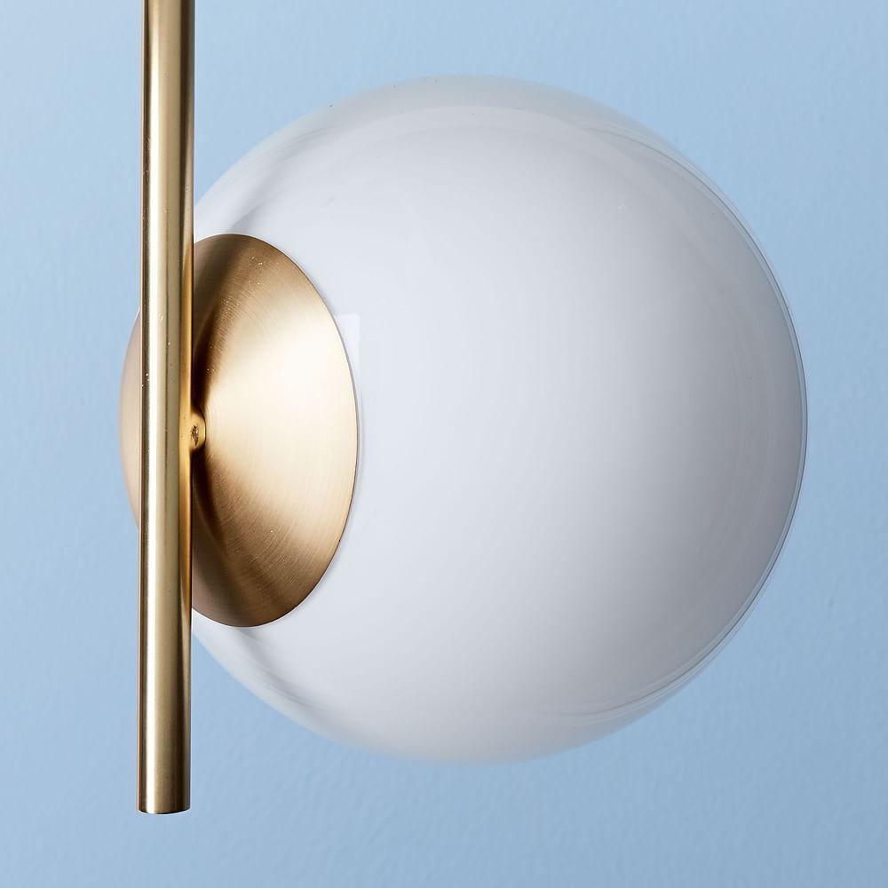 Sphere + Stem Ceiling Lamp