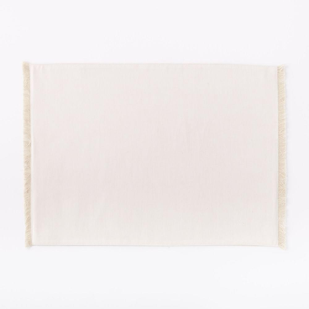 Frayed Edged Placemats (Set of 2)