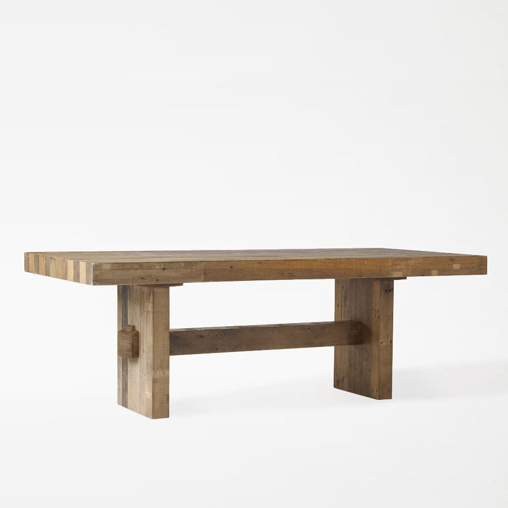 Emmerson reclaimed wood dining table west elm uk for Reclaimed wood dining table