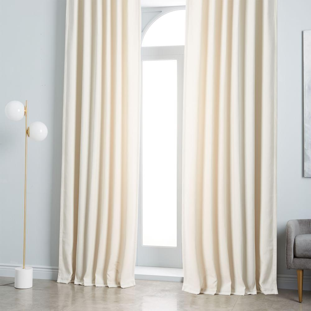Worn Velvet Curtain Blackout Lining