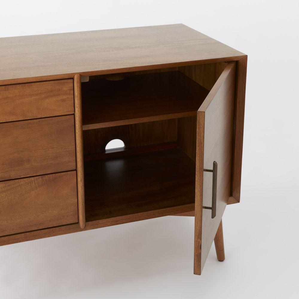/ Media Consoles + Media Cabinets / Mid-Century Media Console ...