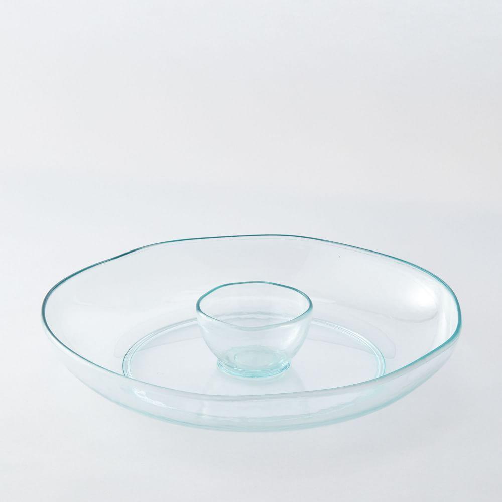 Acrylic Chip + Dip Set - Light Blue