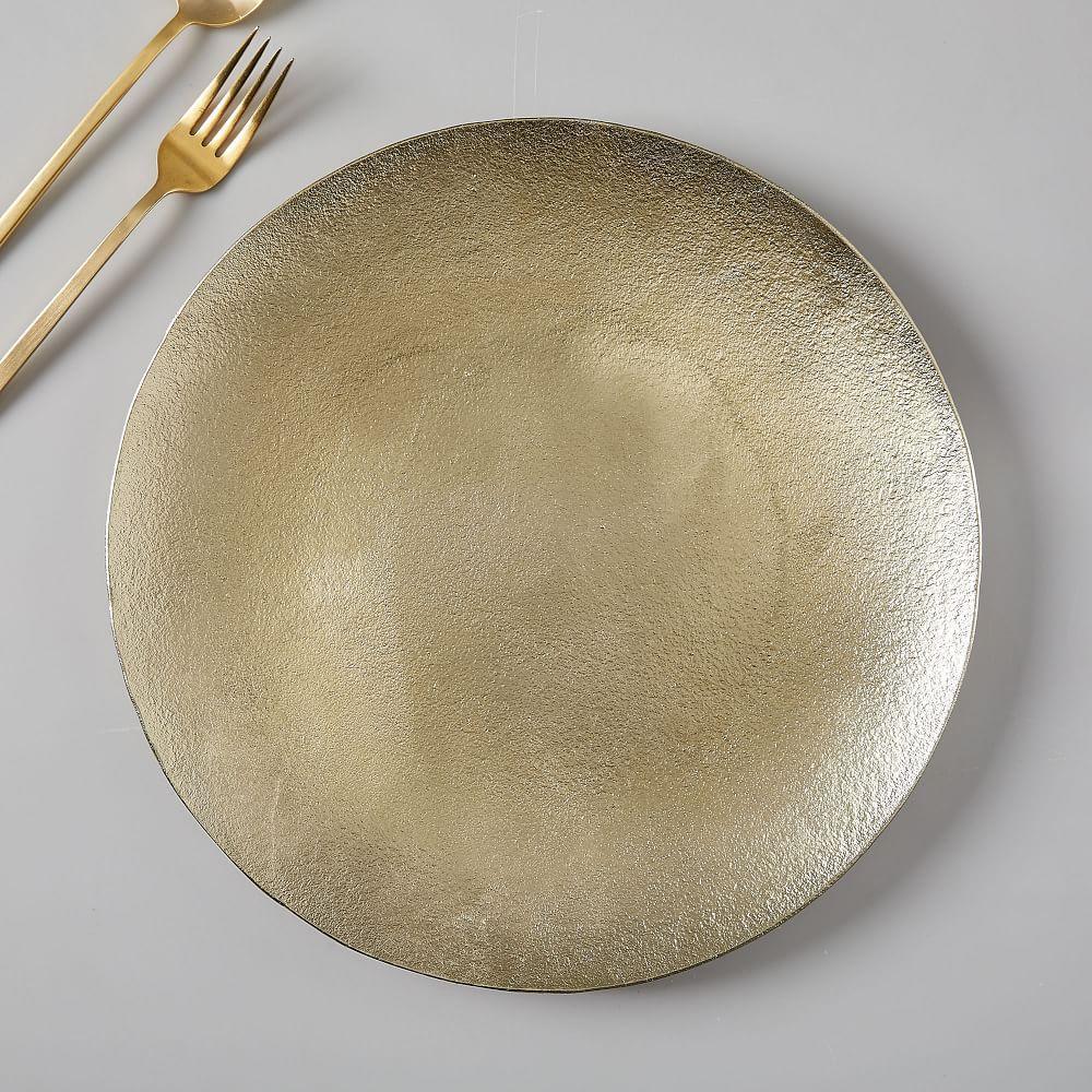 Metallic Textured Charger
