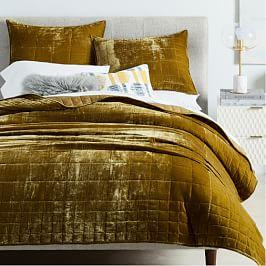 Velvet Bed Linen West Elm Uk