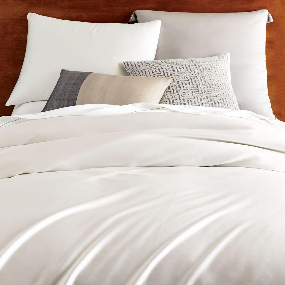 TENCEL™ Duvet Cover + Pillowcases - Stone White