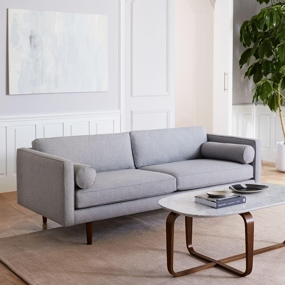 Monroe Mid Century Sofa 203 Cm West Elm Uk