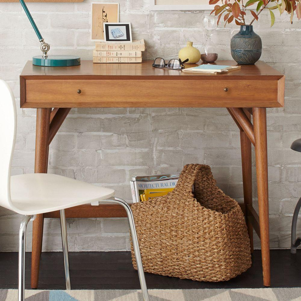Mid-Century Mini Desk - Acorn