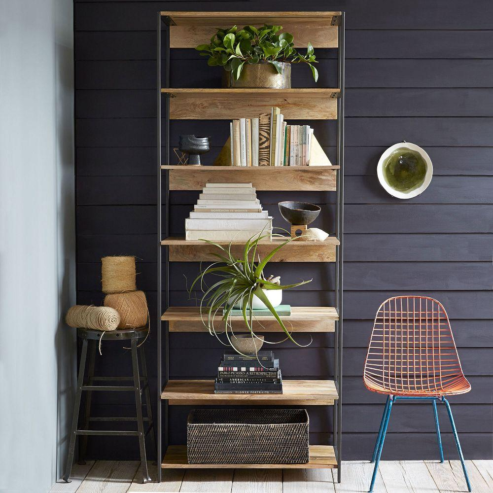 Modular Living Room Furniture Uk Industrial Modular 84cm Bookshelf West Elm Uk