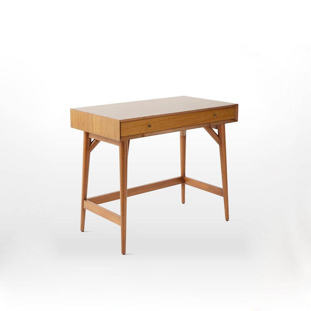Mid Century Mini Desk Acorn