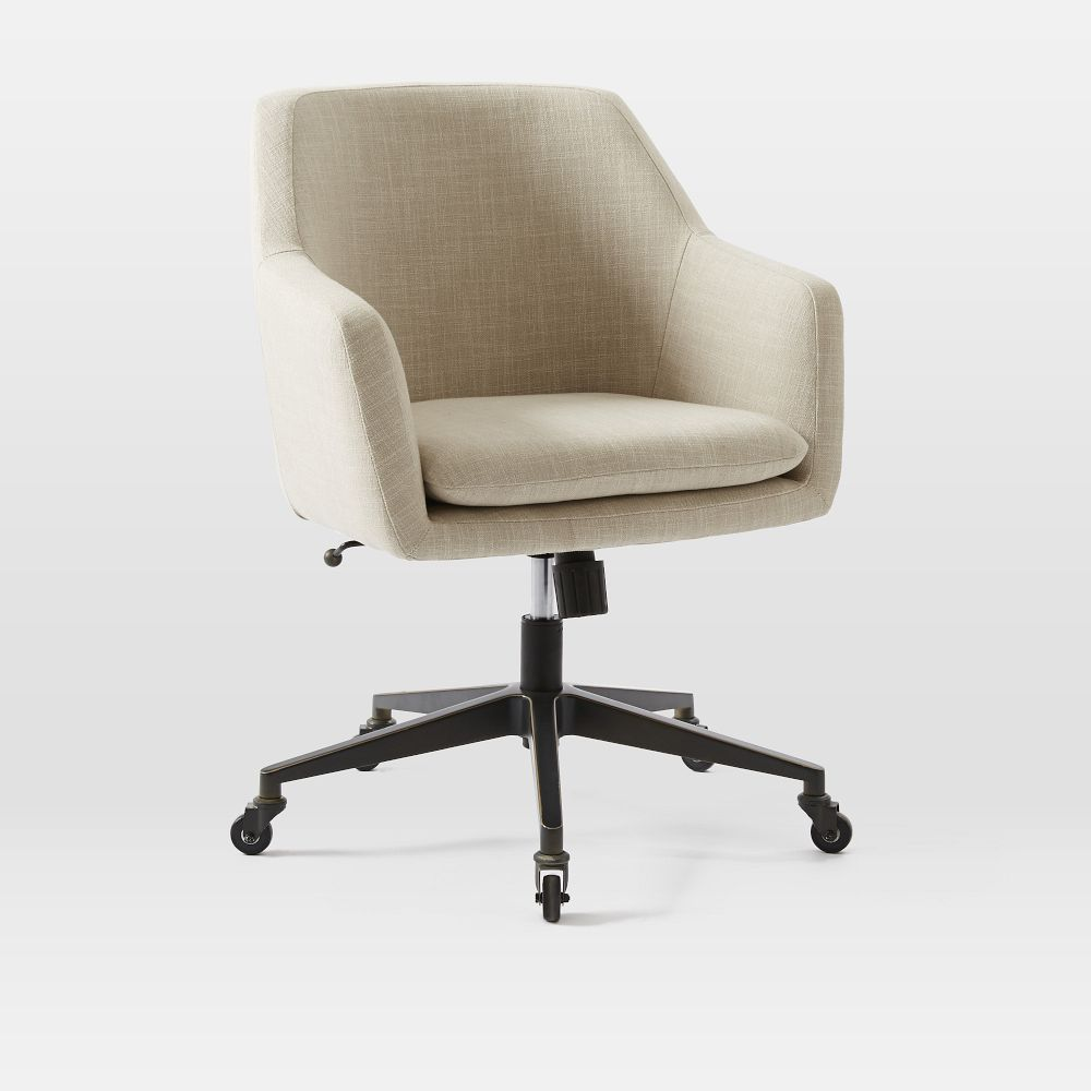 furniture desk chairs helvetica upholstered office chair