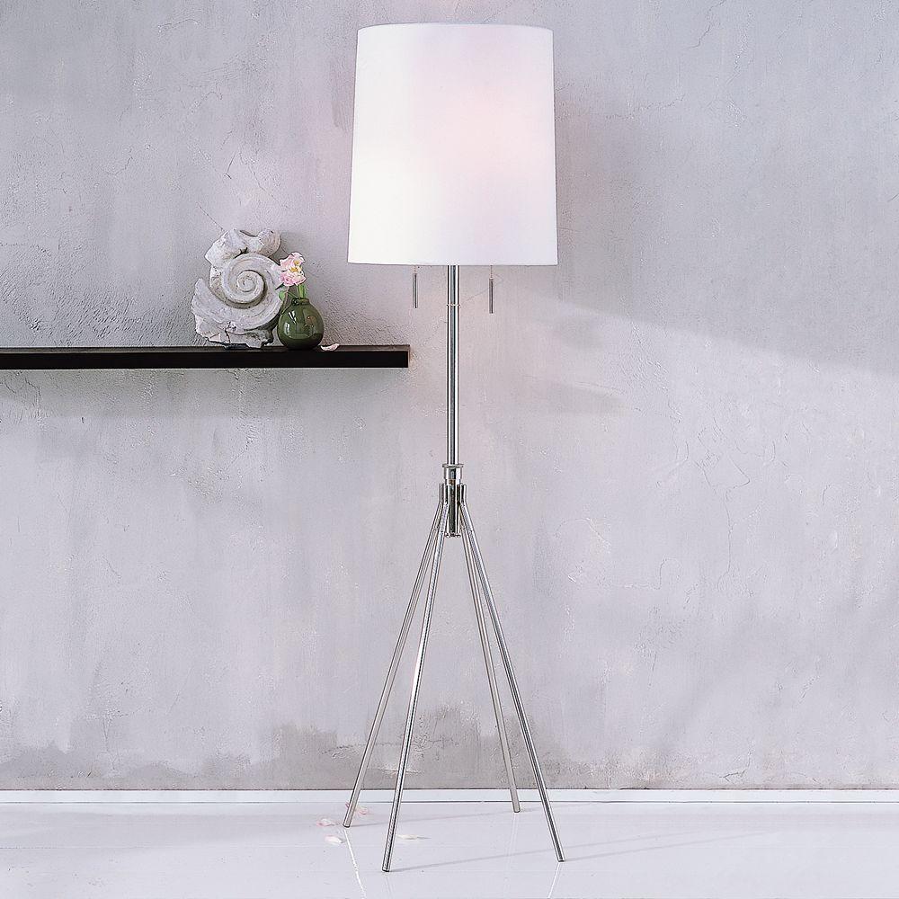 adjustable metal floor lamp west elm uk. Black Bedroom Furniture Sets. Home Design Ideas