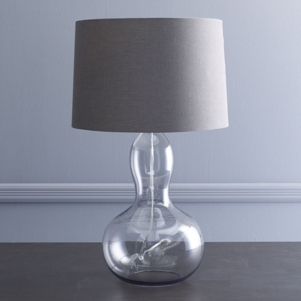 Modern Table Lamps For Bedroom Gourd Table Lamp Charcoal West Elm Uk