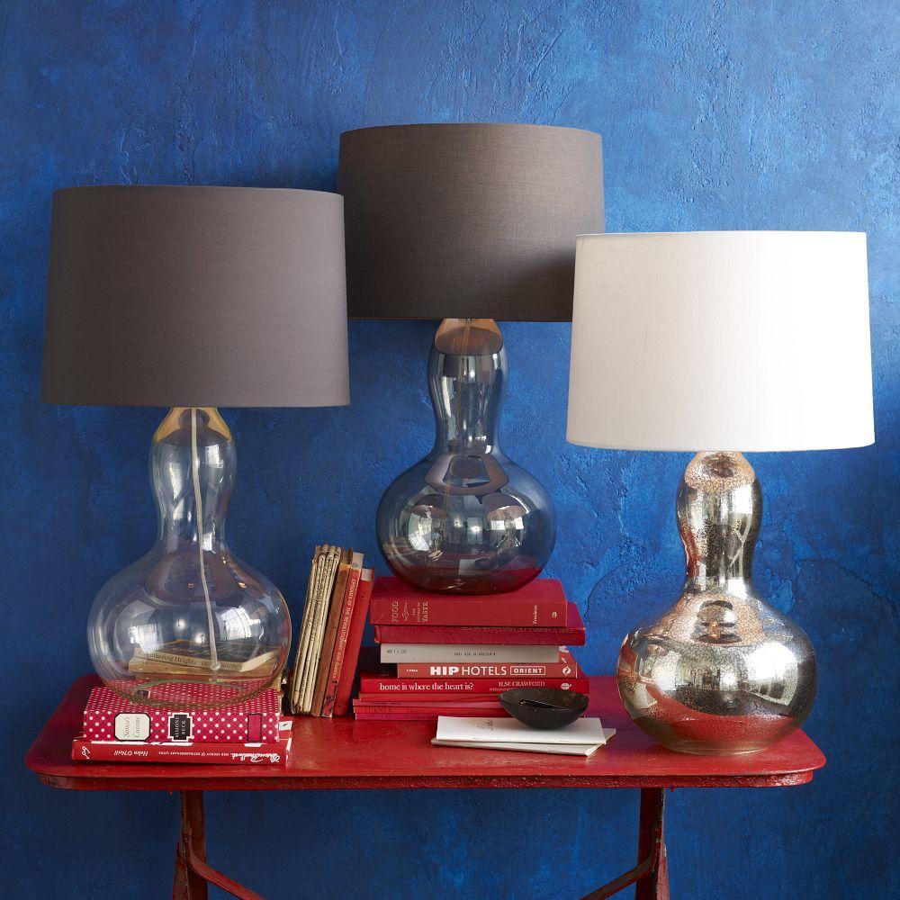 Gourd Table Lamp Mercury West Elm Uk