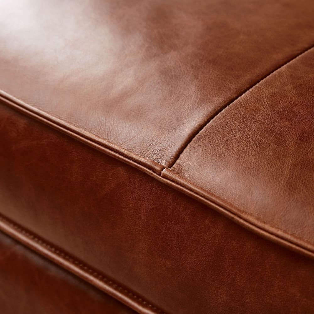 Axel Leather Footstool