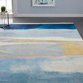 Sun-Kissed Landscape Rug - Light Pool