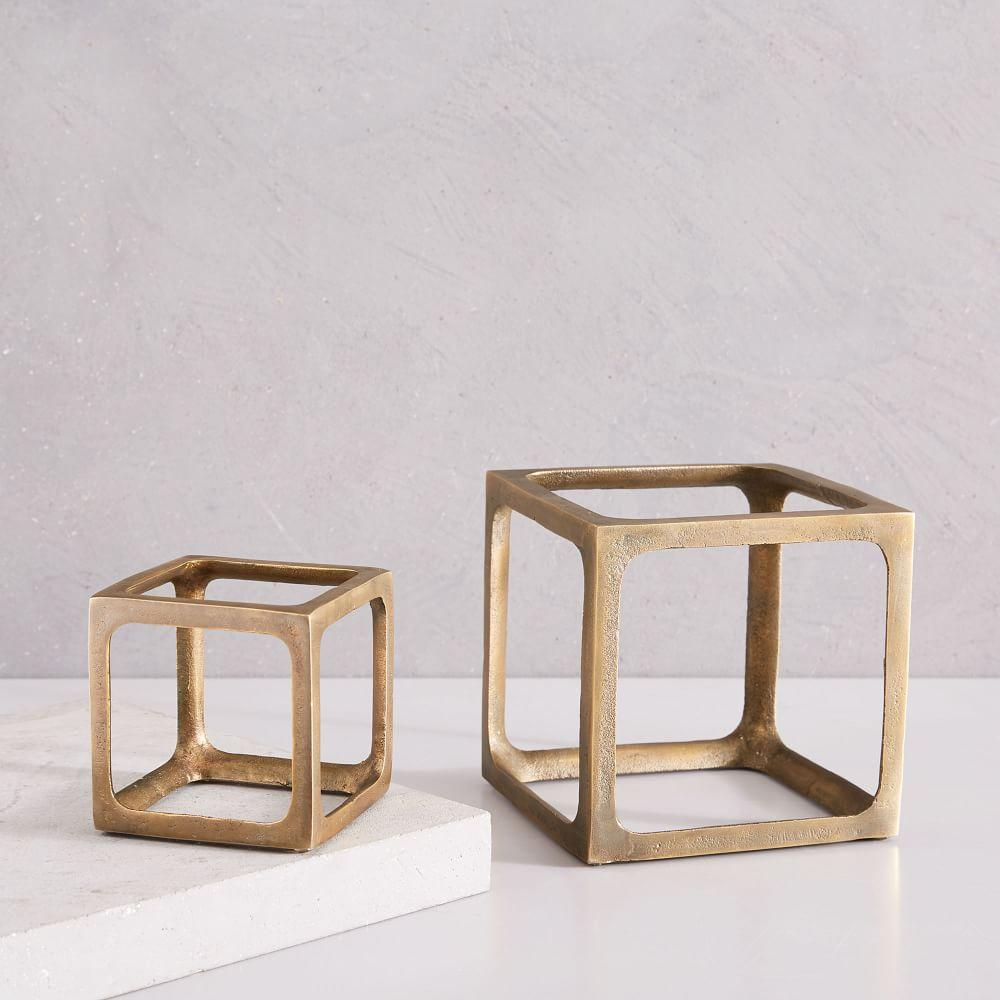 Metal Cube Objects