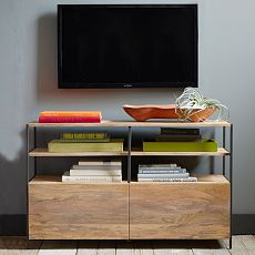 Industrial Modular Media Console (124 cm)