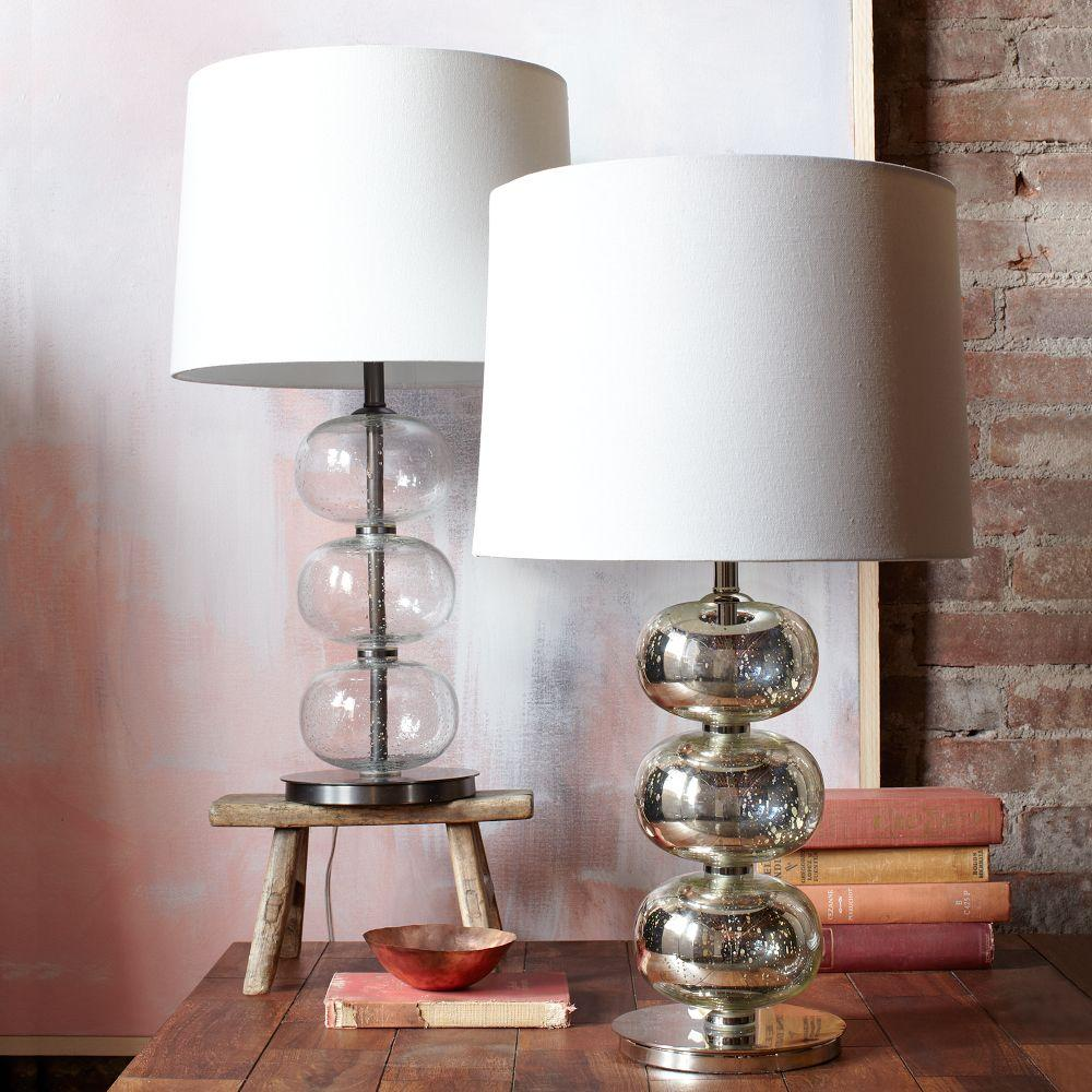 Abacus Table Lamp Mercury West Elm Uk