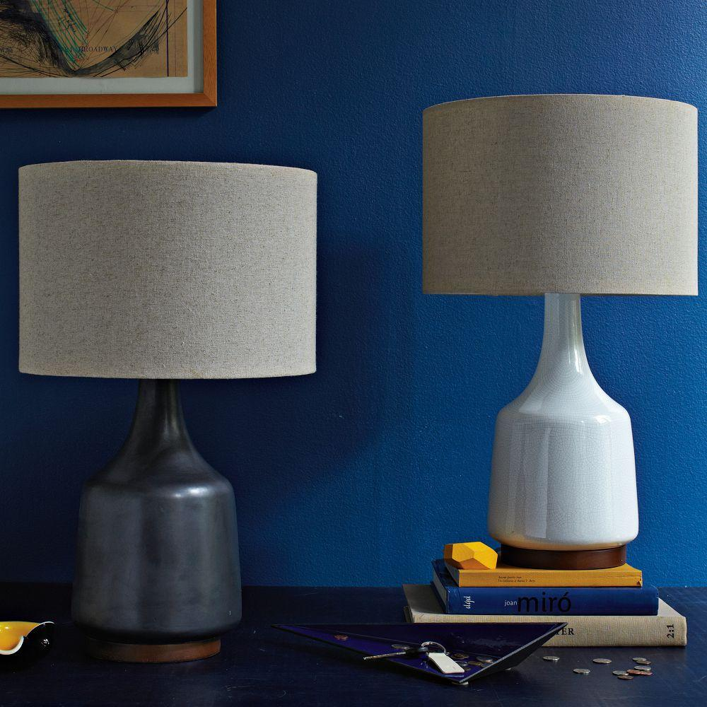 Morten Table Lamp Black West Elm Uk