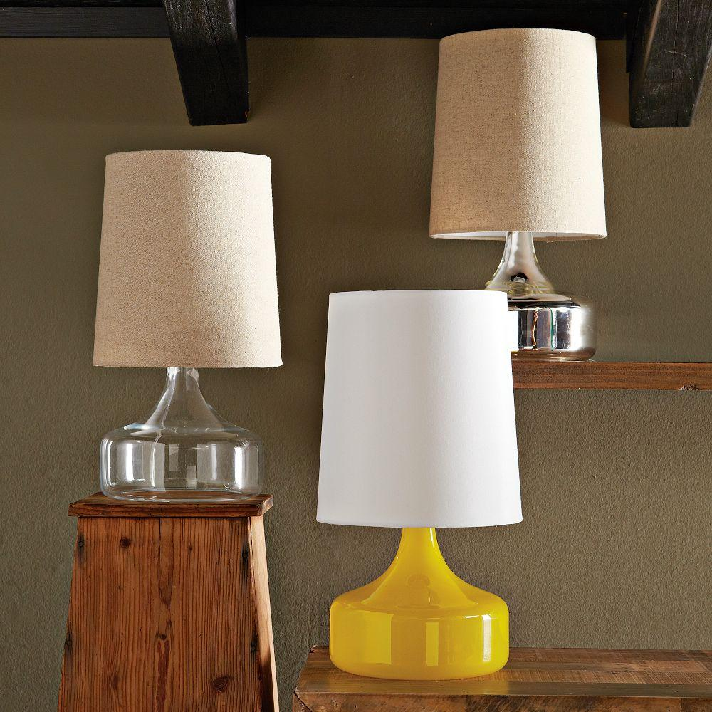 Perch Table Lamp Clear West Elm Uk