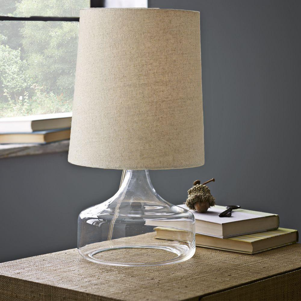 West Elm Lamps: Perch Table Lamp - Clear