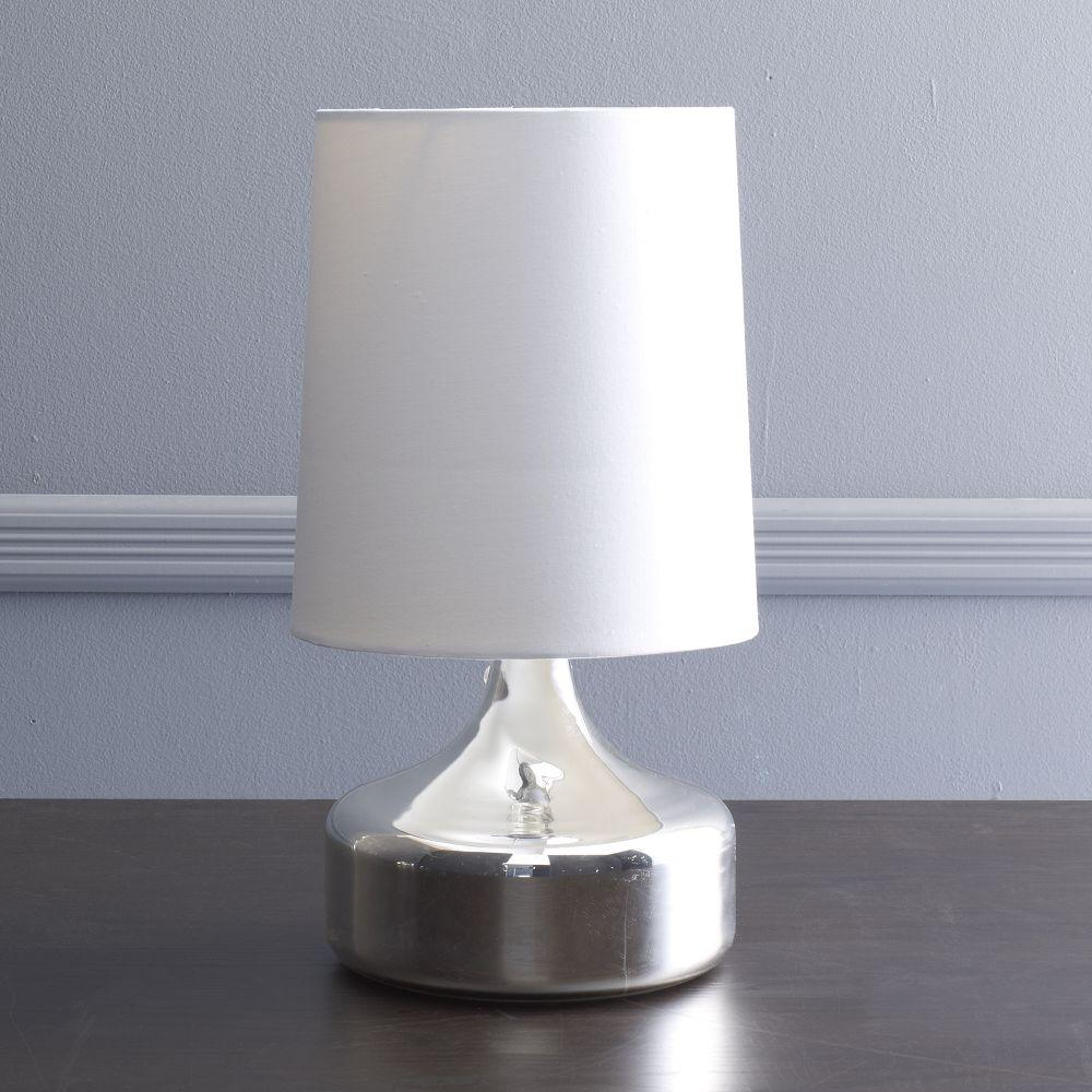 Perch Table Lamp Mercury West Elm Uk