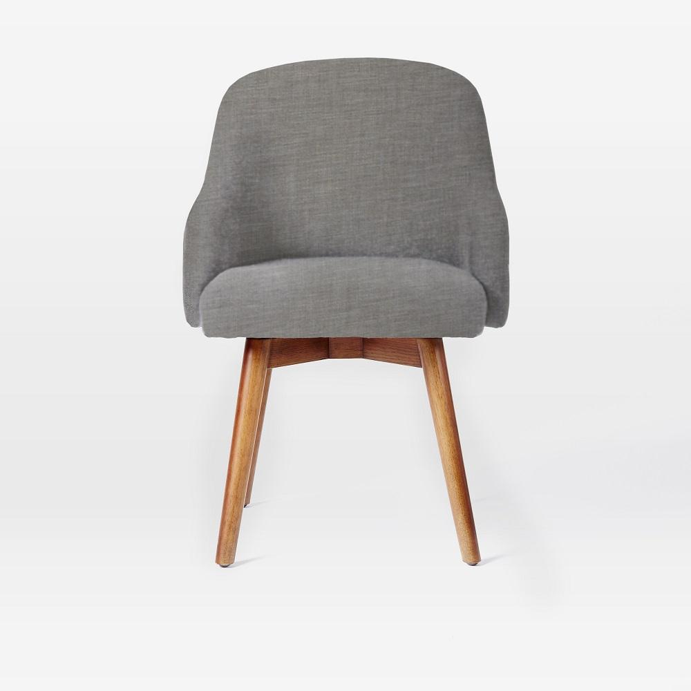 Saddle Office Chair Platinum