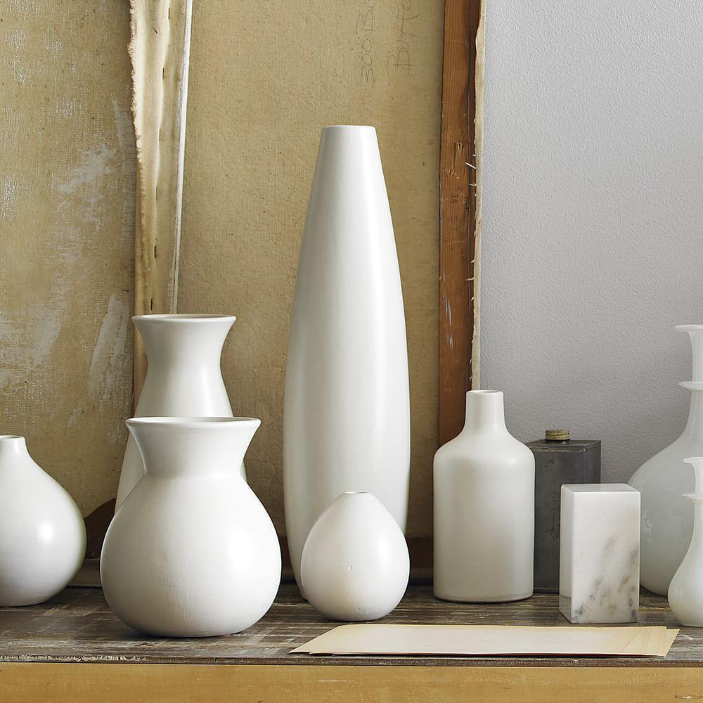 Pure white ceramic vases west elm uk pure white ceramic vases reviewsmspy