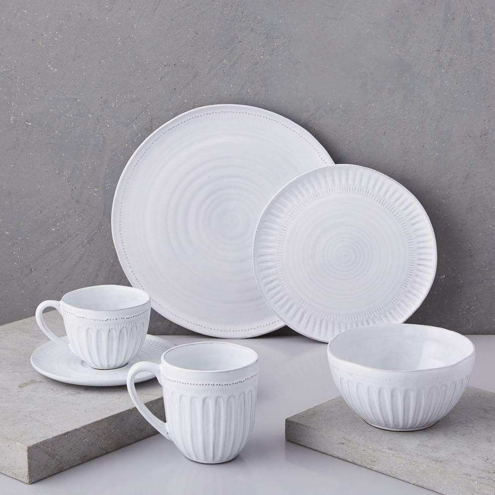 Tin Glaze Dinnerware