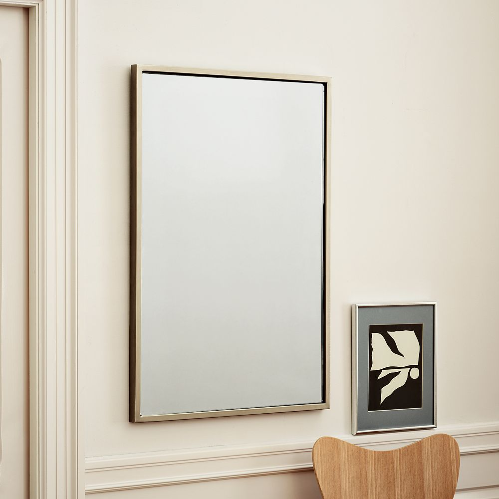 Metal wall mirror for Thin wall mirror