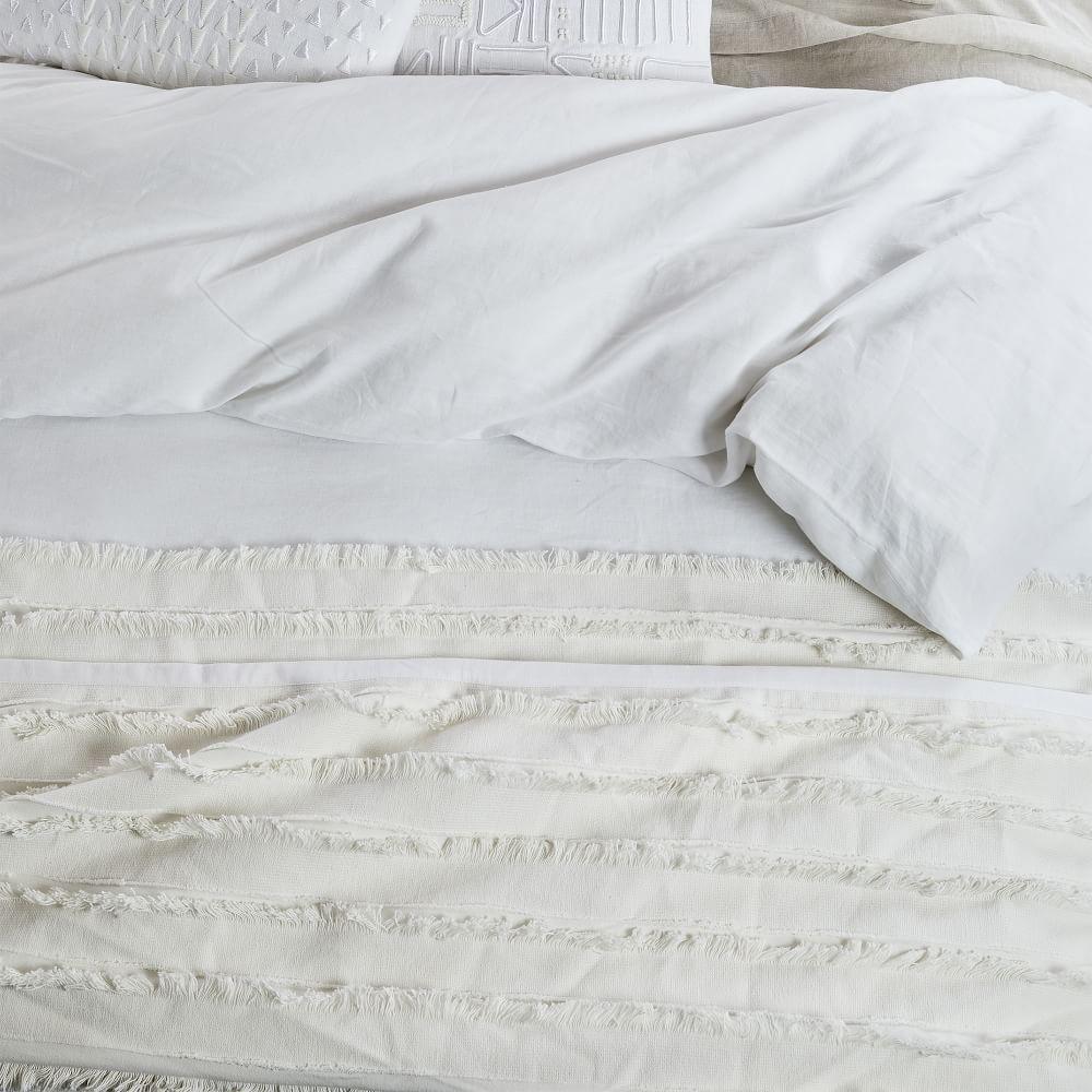 Organic Fringe Blanket