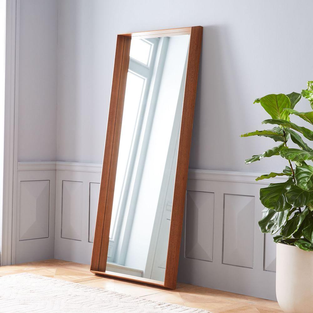 Wood Frame Ledge Floor Mirror | west elm UK