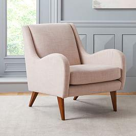 Sebastian Chair - Dusty Blush
