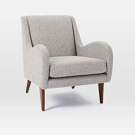 Sebastian Chair - Feather Grey